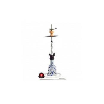 Кальян AMY Deluxe — Imperium 055 Crystal White - 75 см