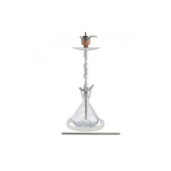 Кальян AMY Deluxe — Alu Diamond 063 Crystal - 75 см