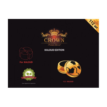 Уголь для кальяна — Crown Kaloud Edition 112 шт