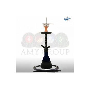 Кальян AMY Deluxe — 4 Stars «420» black 50 см