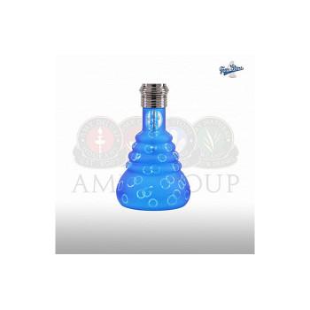 Колба для кальяна Amy 4 Stars 460 Black-Blue резьба