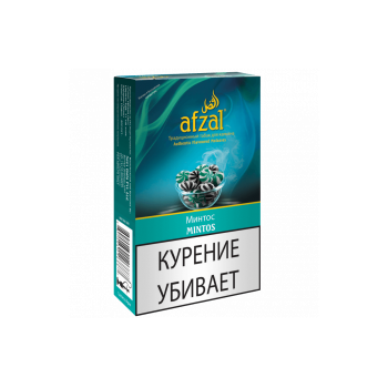 Табак для кальяна Afzal Mintos (Ментос) 50 гр