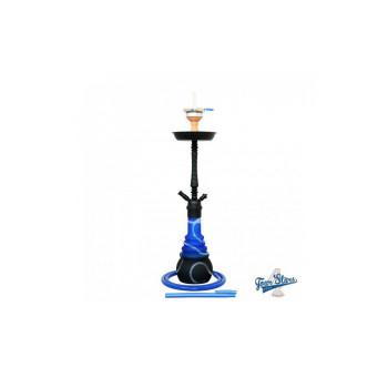 Кальян AMY Deluxe 4 Stars «650» Black Blue - 70 см