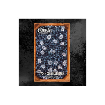 Табак для кальяна Cobra La Muerte Cold Blueberry (Черника лед) 40г