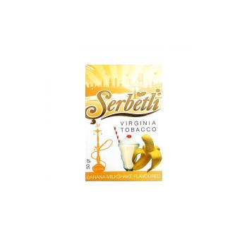 Табак для кальяна Serbetli  Banana Milkshake (Банановый милкшейк) 50гр