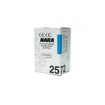 Уголь для кальяна - Coconara 72 кубика 25мм