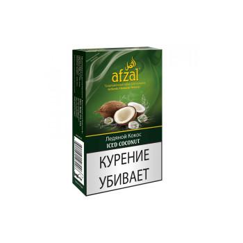 Табак для кальяна Afzal Iced Coconut (Свежесть кокоса) 50 гр.