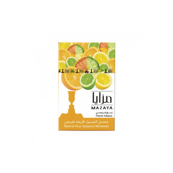 Табак Mazaya 50 гр - Four Seasons (грейпфрут лимон лайм апельсин)