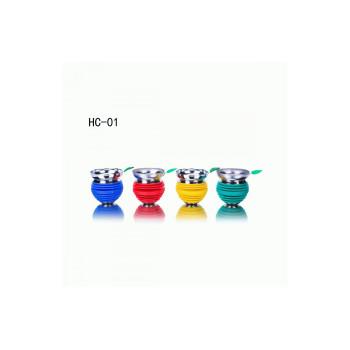 Чаша для кальяна металлическая HC-01