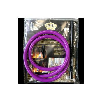 Шланг для кальяна силиконовый Caesar Purple
