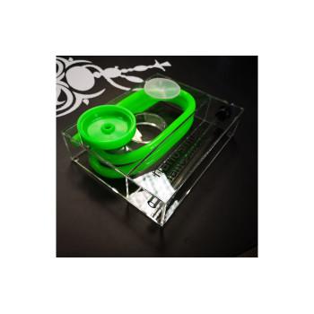 Кальян Nanosmoke Cube Green (Полный комплект)