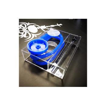 Кальян Nanosmoke Cube Blue (Комплект - полный)