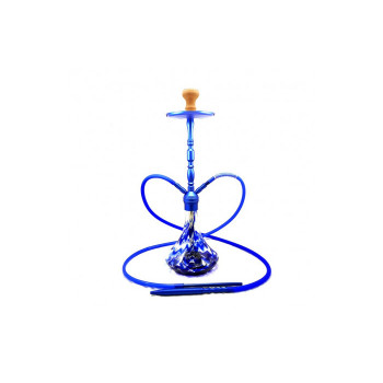 Кальян Babilon 057 Blue на 2 шланга