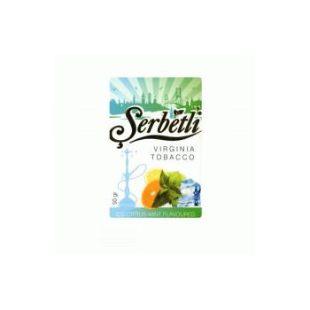 Табак для кальяна Serbetli Ice Citrus Mint (Лед Цитрусовые Мята) 50 гр.