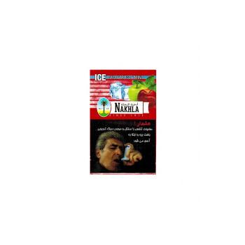 Табак Nakhla NEW 50 гр - Ice 2 apples mint (Лед 2 яблока мята)
