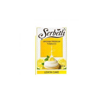 Табак для кальяна Serbetli Lemon Cake (Лимонный пирог) 50 гр.