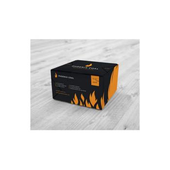 Уголь для кальяна - Black Phoenix 72 кубика 25мм (Феникс)