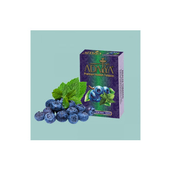 Табак для кальяна Adalya Blueberry Mint (Черника, Мята) 50 гр