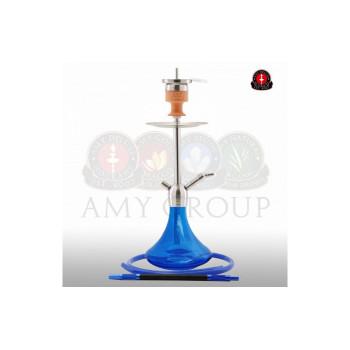 Кальян AMY Deluxe — Little Steel SS13 blue