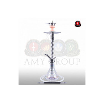 Кальян AMY Deluxe — Style Steel «SS02» Crystal - 80 см