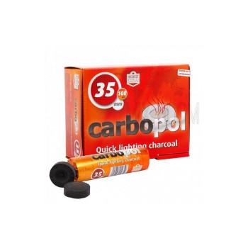 Уголь для кальяна Carbopol - 35мм