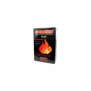 Уголь для кальяна Cocobrico 108 кубиков (flat)