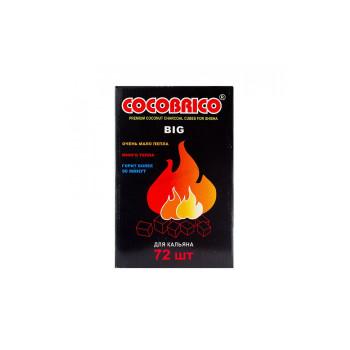 Уголь для кальяна - Cocobrico 72 кубика Big