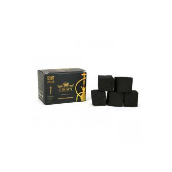 Уголь для кальяна — Crown 12 кубиков 25мм