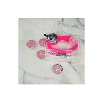 Кальян Nanosmoke Cube Pink с подсветкой