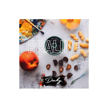 Табак для кальяна Daly Strong Praline (Пралине с Арахисом и Персиком) 100г