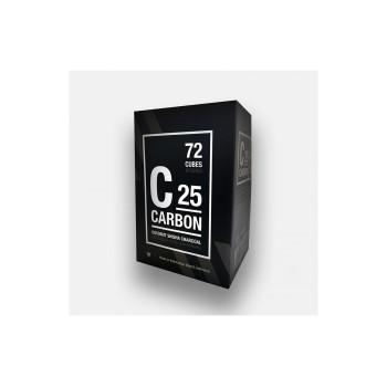 Уголь Carbon 72шт 25мм