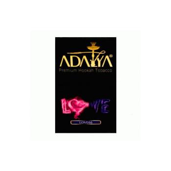 Табак для кальяна Adalya Love 66 (Арбуз клубника мята) 50 гр.