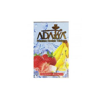 Табак для кальяна Adalya Strawberry Banana Ice (Лед клубника банан) 50 гр