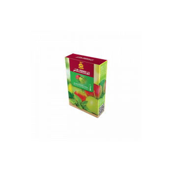 Табак для кальяна Al Fakher (2 яблока с мятой) 50 гр.