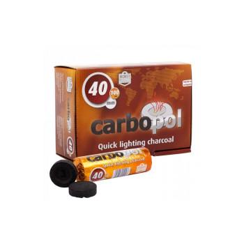 Уголь саморазжигающийся для кальяна Carbopol - 40мм