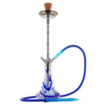 Кальян PHARAON 2011-1 SILVER BLUE 85см Фараон