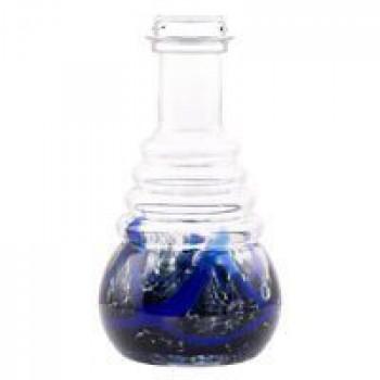 Колба AMY DELUXE 630 Blue Click (Хром)
