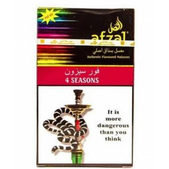 Табак Afzal 4 seasons Индийские специи с мятой и цветочными нотками 40 грамм