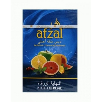 Табак Afzal Blue Extreme Яблоко,абрикос,барбарис,дыня 40 грамм
