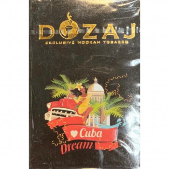 """Табак DOZAG """"CUBA DREAM"""" (Кубинская мечта ) 50g"""