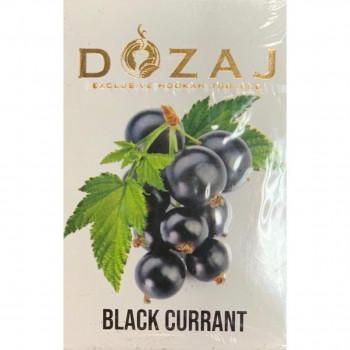 "Табак DOZAJ  ""BLACK CURRANT"" (Чёрная смородина) 50 g"
