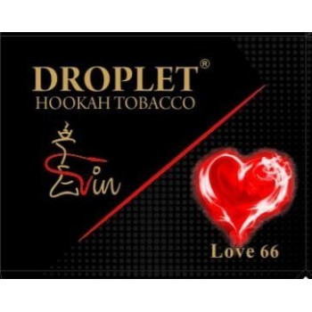"Табак DROPLET  ""LOVE 66""  (Любовь 66) 50 g"