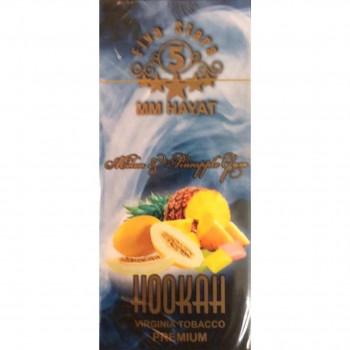 "Табак FIVE STARS ""Melon peneappl gum"" (Жвачка ананас с дыней) 50 g"