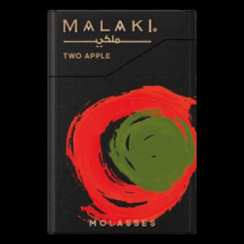 Табак Malaki  Two Apple -Двойное Яблоко, 50 гр.