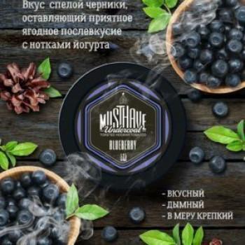 "Табак  Must Have ""Blueberry"" ( Черника) 125г"