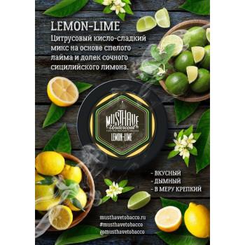 "Табак  Must Have ""Lemon Lime"" (Лимон Лайм)"