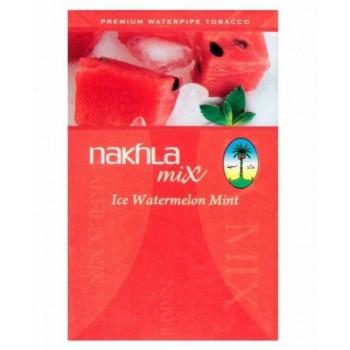 Ледяной арбуз Ice Watermellon Mint ТАБАК NAKHLA 50 ГРАММ