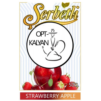 "Табак Serbet Strawberry Apple  ""Клубничное яблоко""  50 g"